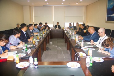 Meeting with the The Northeast Asia History Foundation